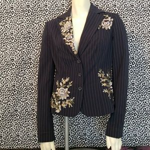 💋3 for $24💋YANK AMERICAN Embroidered Blazer